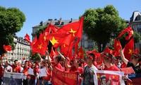 Protestas de vietnamitas en diferentes países contra provocaciones chinas