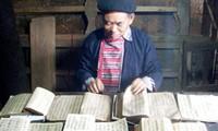 Valores de libros antiguos de étnicos vietnamitas