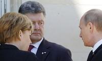 Putin se reúne por primera vez con el presidente electo ucraniano