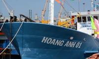 Barcos pesqueros con casco de acero contribuyen a enriquecer y defender la patria