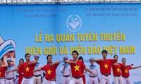 """Propaganda móvil sobre el tema """"Fronteras e islas de Vietnam"""""""