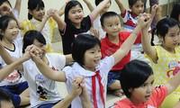 Programa artístico en apoyo a los niños pobres
