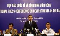 Rueda de prensa sobre la tensión en el Mar Oriental: Vietnam rechaza la calumnia de China