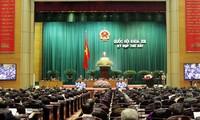 Legisladores vietnamitas ratifican leyes importantes del país