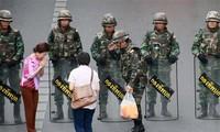 Tailandeses apoyan la Junta militar