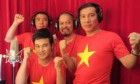 Artistas vietnamitas hacia mar e islas nacionales
