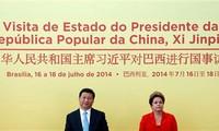 Brasil y China rubrican 56 acuerdos de cooperación