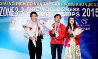 Vietnam gana tres boletos para el Campeonato Mundial de Ajedrez de 2015