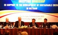 Promueve Programa de la Asistencia Europea al Desarrollo Energético Sostenible en Vietnam
