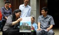 Vice presidenta del Parlamento en visita de trabajo en provincia Lai Chau