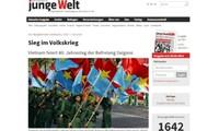 Prensa extranjera destaca la histórica victoria del 30 de abril de 1975
