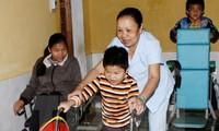 Actividad de apoyo a víctimas de dioxina en la ciudad Da Nang