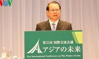 Interviene dirigente vietnamita en Conferencia sobre el futuro de Asia