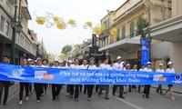 Mitin en Hanoi en saludo al Día Mundial Sin Tabaco
