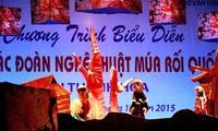 Vietnam, Alemania y Rusia presentan valores nacionales en espectáculo de títeres