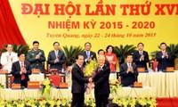 Máximo líder partidista da orientaciones al desarrollo socioeconómico de Tuyen Quang