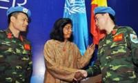 Vietnam continuará apoyando la misión de paz de la ONU