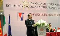 Vietnam e Italia materializan asociación estratégica