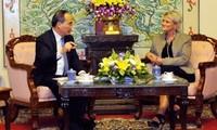 Frente de la Patria de Vietnam y Ayuda de Iglesia Noruega impulsa cooperación