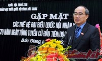 Localidades vietnamitas conmemoran 70 años de las primeras elecciones generales