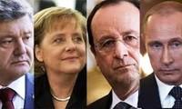 Cuarteto de Normandía apoya el alto al fuego en Ucrania del Este
