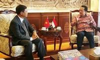 Indonesia y Vietnam promueven relaciones bilaterales