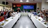 Celebran primeras conferencias consultivas para elegir a diputados de la XIV legislatura