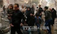 Rusia y Estados Unidos tratan el cese al fuego en Siria
