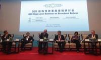Ministros de Finanzas de G20 impulsan cooperación de políticas