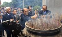 Homenajean a los reyes fundadores de la nación vietnamita