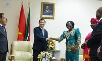 Concluye presidente vietnamita su visita a Mozambique
