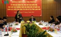 Altos dirigentes parlamentarios revisan preparación de elecciones legislativas