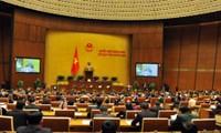 Altos dirigentes vietnamitas presentan informes sobre sus trabajos ante Asamblea Nacional