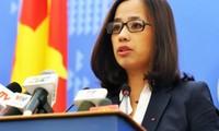 Exhorta Vietnam a China a evitar agravación de tensiones en zonas no delimitadas