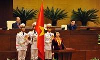 Por primera vez una mujer preside el Parlamento vietnamita