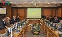 Vietnam y Egipto fomentan cooperación en inspección gubernamental
