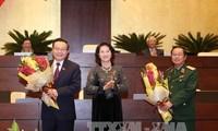 Completan el personal de la Asamblea Nacional de Vietnam, nuevo mandato