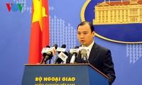 Vietnam reafirma soberanía sobre Hoang Sa y Truong Sa y condena violación territorial de China