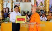 Comunidad jemer de Vietnam promueve construcción nacional