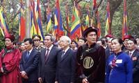 Solemne ceremonia conmemorativa de la muerte de los reyes Hung 2016