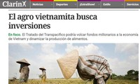 Agricultura vietnamita se beneficiará del Acuerdo de Asociación Transpacífico
