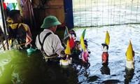 Teatro de títeres acuáticos de los campesinos- artistas de Hong Phong