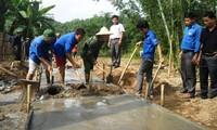 Jóvenes de Yen Bai unen fuerzas para nueva vida en el campo
