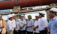 Revisan la marcha de proyectos de inversiones importantes en Nghe An