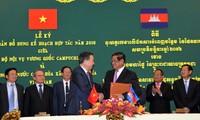 Ministro vietnamita de Seguridad Pública de visita en Camboya