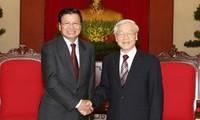 Ratifican buenos lazos de amistad y cooperación entre Vietnam y Laos