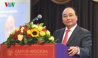 Premier vietnamita acude al Foro empresarial Vietnam-Rusia