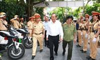 Vietnam refuerza seguridad del tránsito y orden social en vísperas de elecciones