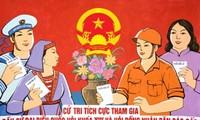 Elecciones generales- en jornada de plena democracia en Vietnam