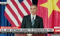 El levantamiento por Estados Unidos del embargo de armas a Vietnam atrae atención mundial